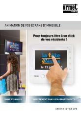 animation ecran de hall